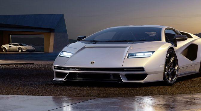 The Lamborghini Countach Is Back