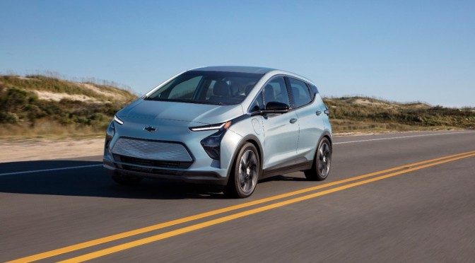 Every Chevy Bolt Gets Recalled