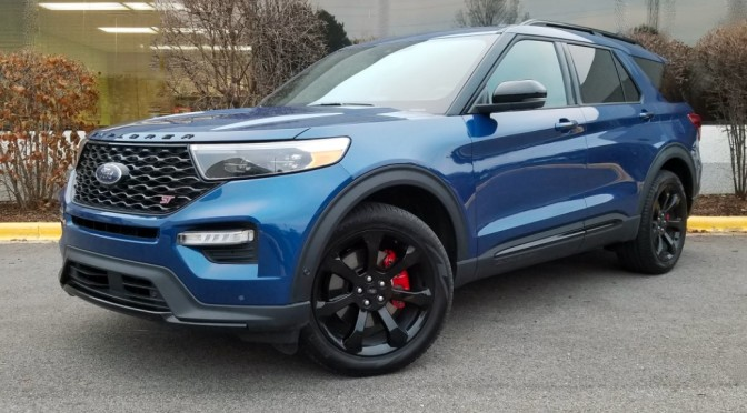 2022 Ford Explorer ST To Have Standard Rear-Wheel-Drive