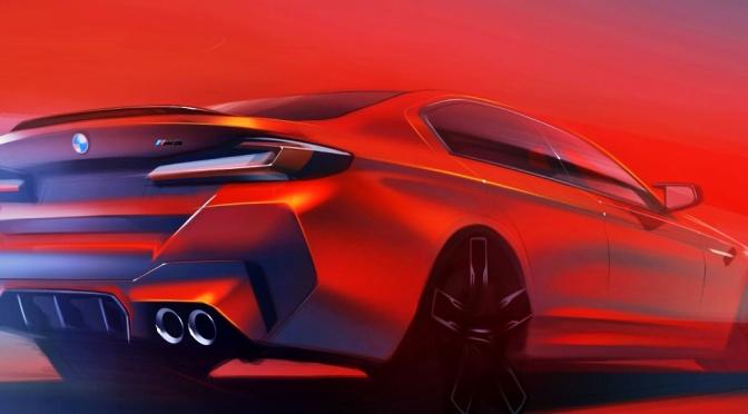 The 2023 BMW M5 Goes Hybrid
