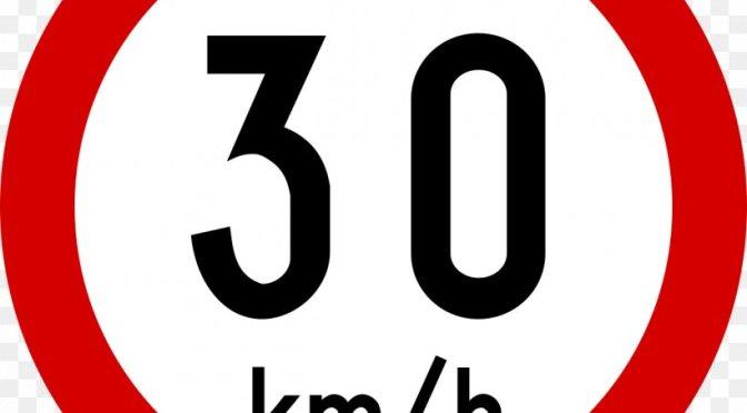 Paris Sets Draconian Citywide 30 km/h Speed Limit
