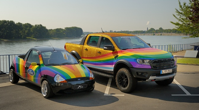 """Ford Reveals the """"Very Gay Raptor"""""""