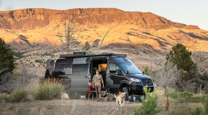"""Go """"Upta Camp"""" In Style With Outside Van's Launch Pad"""