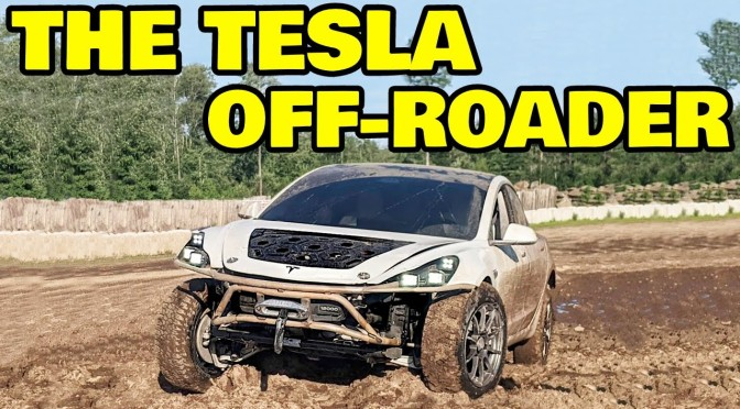 Behold, the World's Most Capable Off-rOad Tesla
