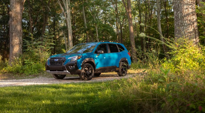 The Subaru Forester Wilderness Is a Factory Overland Rig — Or Is It?