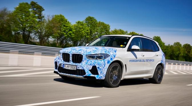 BMW Tests Hydrogen X5 With Hand Grenades