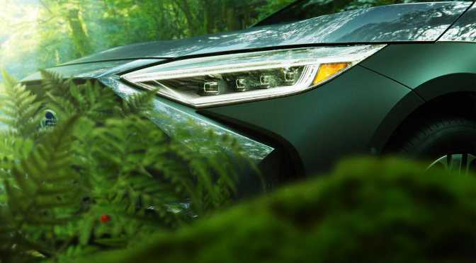 Subaru Teases Their First Electric Vehicle: The Solterra