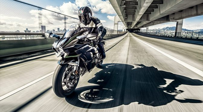 Kawasaki Is Developing a Hybrid Motorcycle With an Electric Supercharger